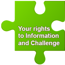 Your rights to information and challenge
